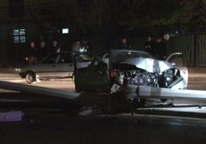 Başkentte aynı noktada çifte trafik kazası