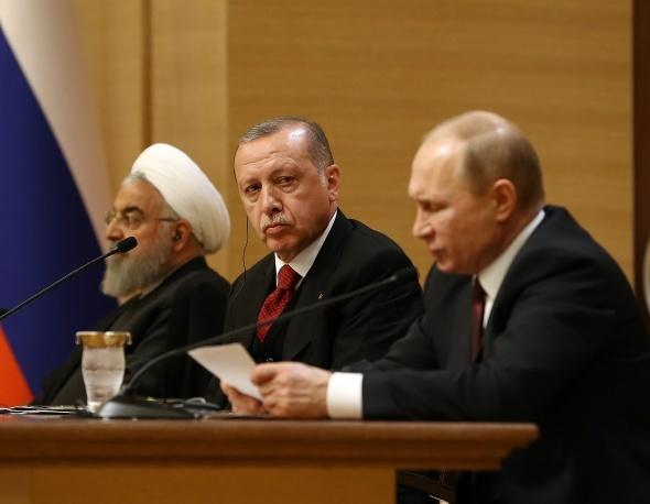Tarihî zirvenin perde arkası! Üç liderin buluşması 'sıfır hata' ile tamamlandı