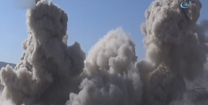 Esad rejimi Doğu Guta'da sivilleri vurdu