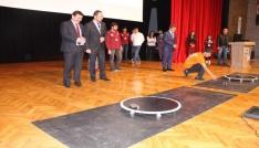 Erzincan Üniversitesinde robotlar yarıştı