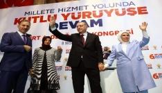 """Cumhurbaşkanı Erdoğan: """"2019 seçimleri kazanımların devamı için milat olacak"""" (1)"""
