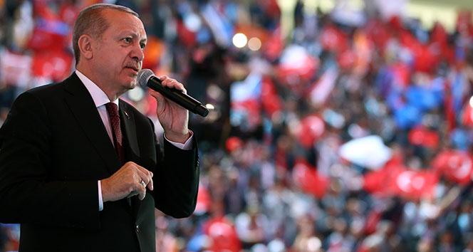 Cumhurbaşkanı Erdoğan: Ey Batı, ne dersen de, biz doğru bildiğimiz yolda yürüyoruz, yürüyeceğiz