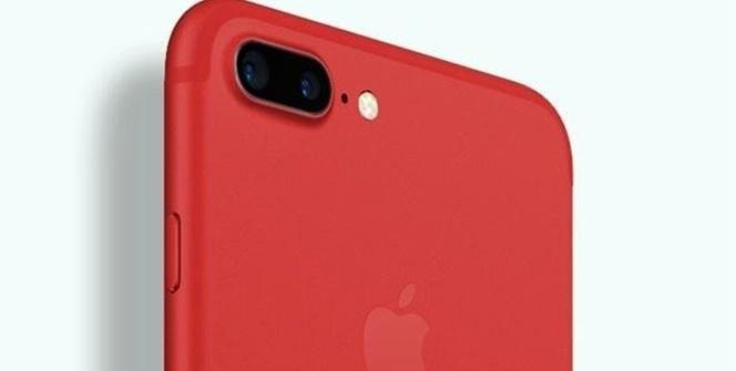 Kırmızı iPhone 8 tanıtıldı!