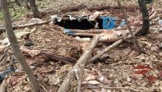 Tuncelide teröristlere ait 6 sığınak imha edildi