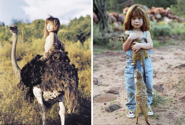 Ormanda hayvanlarla büyümüştü... Bu hale geldi...