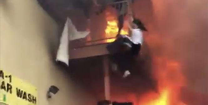 ABD'de Türk restoranında yangın