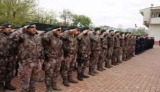 Tuncelide  Türk Polis Teşkilatının 173. Kuruluş Yıl Dönümü
