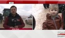 TGRT Haber muhabiri gözyaşlarına hakim olamadı