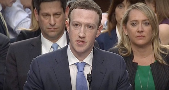 Mark Zuckerberg, ABD Seantosu'nda ifade verdi
