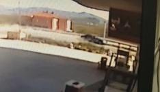 Sanatçı Kabaklının geçirdiği kaza anı kameralarda