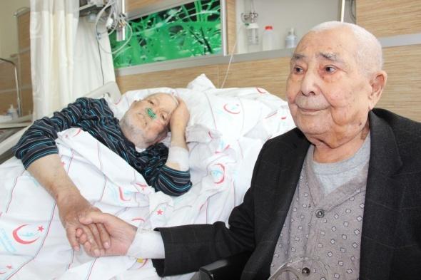 72 yıl sonra hastanede karşılaştılar
