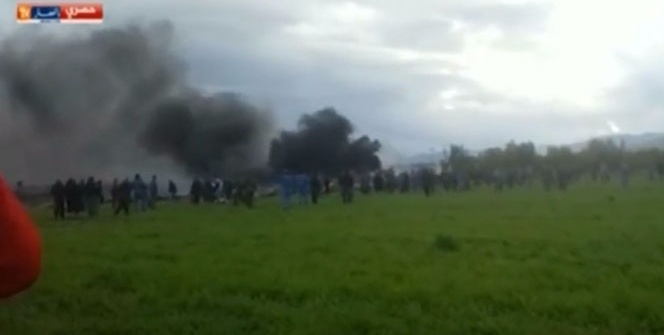 Cezayir'de uçak düştü! 257'den fazla ölü var