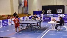 Osmaniyenin masa tenisi şampiyonları belli oldu