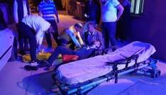 Kadirlideki motosiklet kazasında bir kişi yaralandı