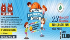 23 Nisan çocuklarına basketbol turnuvası