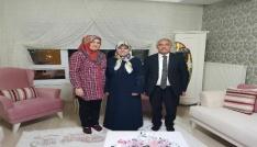 Niğde Belediye Başkanı Özkandan şehit ailelerine ziyaret