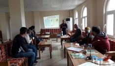 Gercüşte çiftçilere teorik ve uygulamalı eğitim
