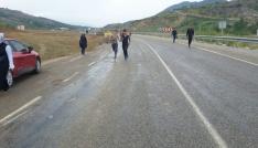 Sasonda yapılan koşu yarışmasına 98 öğrenci katıldı