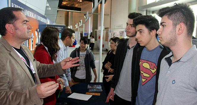 Girne ve Kıbrıs Amerikan Üniversiteleri Kayseri'de öğrencilerle buluştu