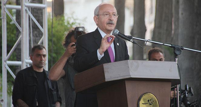 Kılıçdaroğlu: Amerikanın attığı bombaları desteklemiyorum