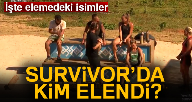 Survivorda elemeye çıkan isimler kim oldu? Survivor kim elendi | 14 nisan survivor eleme