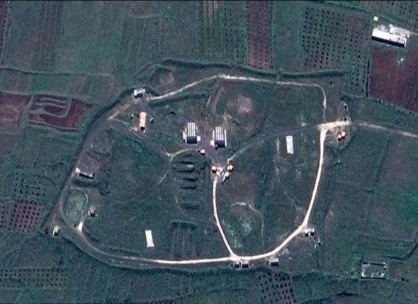 ABD'nin vurduğu tesisler uydudan görüntülendi