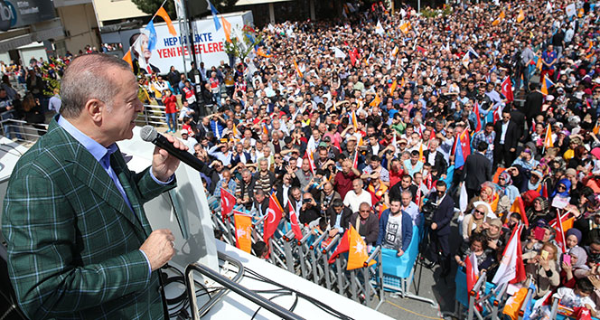 Cumhurbaşkanı Erdoğan: Pensilvanyadaki sen de geleceksin