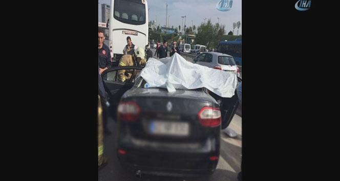 Kartalda feci kaza: 4 kişi hayatını kaybetti