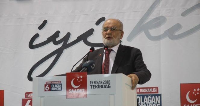 Karamollaoğlu: 'Suriye saldırısıyla, Türkiye'ye gözdağı veriyorlar'