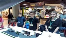 Bilim ve Teknoloji Kulübü öğrencilerinden robotik uygulamalar şöleni