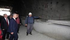 Mevlana Tünelinde ikinci tüpte ışığa 50 metre