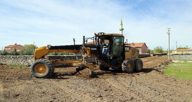 Aksaray'da sati kaplama çalışmaları başladı