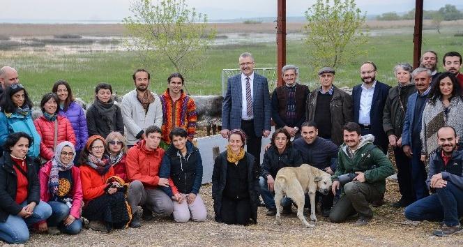 Leylek köyü 'Çıraklık Buluşması'na ev sahipliği yaptı