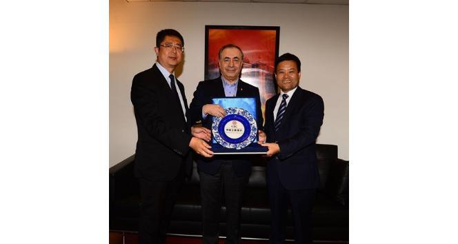 ICBC'den Mustafa Cengiz'e nezaket ziyareti