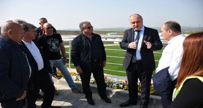 Bulgar belediye başkanları TESKİ tesislerini gezdi