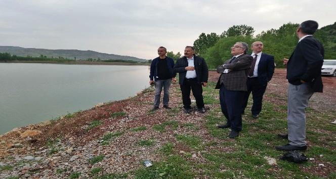 Gölbaşı Gölleri çevresinde incelemeler yapıldı