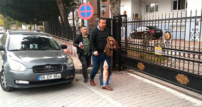 Sahte komiseri linçten polis kurtardı