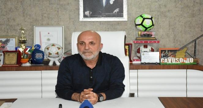 """Hasan Çavuşoğlu: """"Takım ligde kalacak, kimsenin şüphesi olmasın"""""""