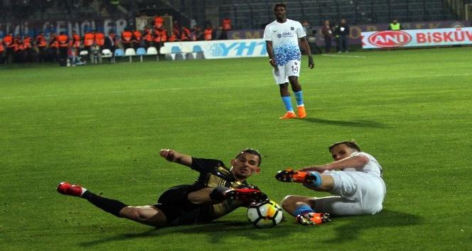 Spor Toto Süper Lig: Osmanlıspor: 3 - Trabzonspor: 3 (Maç sonucu)