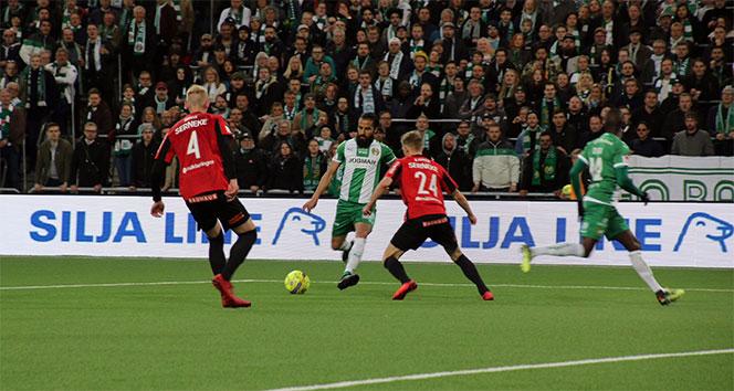 Erkan Zengin Hammarbyde ilk maçına çıktı