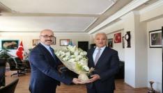 İl Kültür ve Turizm Müdüründen Başkan Başsoya ziyaret
