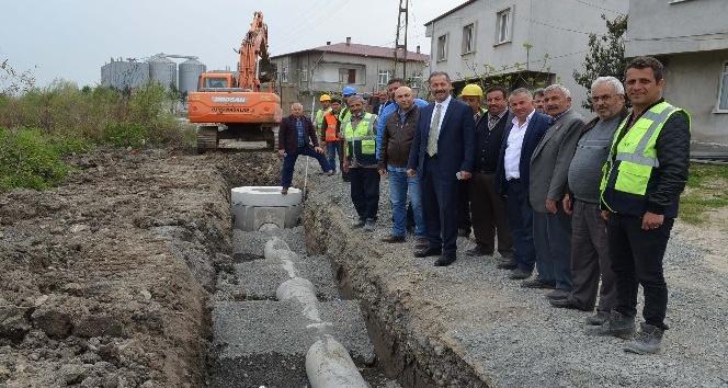 Çarşamba'ya 15 milyon liralık alt yapı yatırımı