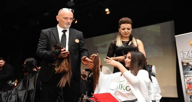 Kanser hastaları için saçlarını bağışladılar