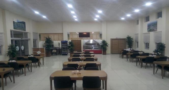 Hisarcık Esire Termal Turizm Merkezi restoranı hizmete girdi