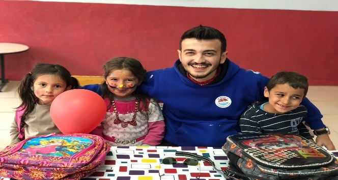 Üni-Ts'den Samsun'daki okula anlamlı destek