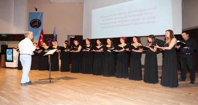 Akdeniz Üniversitesi Marşı Seçildi