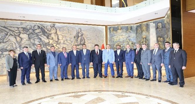 GTO'nun mazbatalarını alan yönetim ve divan kurulu üyelerinden ziyaretler