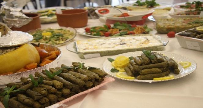 Trakya'nın yöresel yemekleri yarıştı
