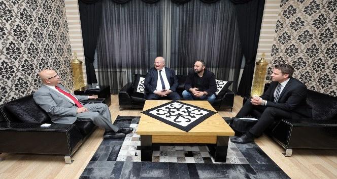 Hamm Büyükşehir Belediye Başkanı Petermann'dan Başkan Çoban'a ziyaret