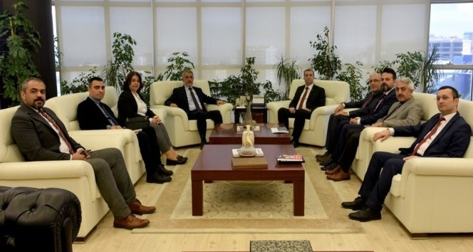 Rektör Bilgiç KÜSİ İl Heyetini konuk etti